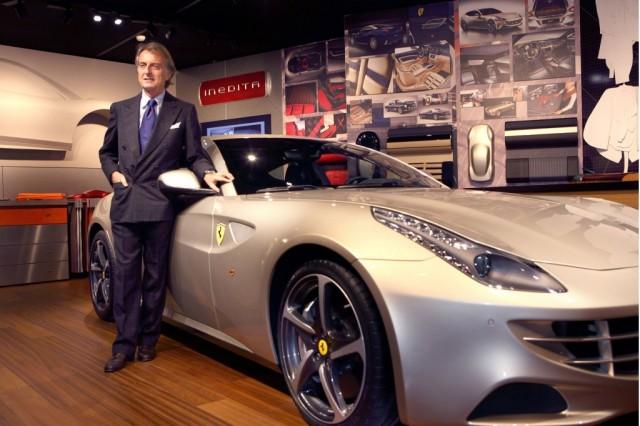 Ferrari chief Luca Cordero di Montezemolo