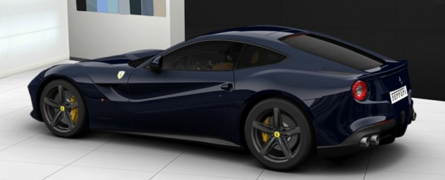 Ferrari F12 Berlinetta configuration tool live