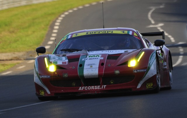 Ferrari en route to LMGTE Pro win - Anne Proffit photo