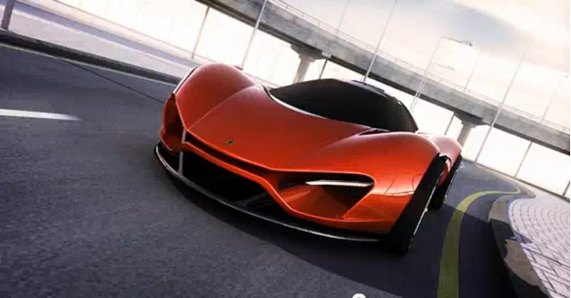 Ferrari Xezri design concept by Samir Sadikhov