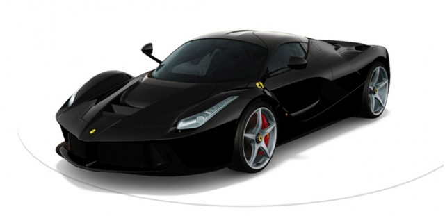Ferrari LaFerrari in Nero