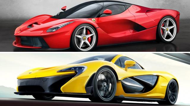 Ferrari LaFerrari versus McLaren P1