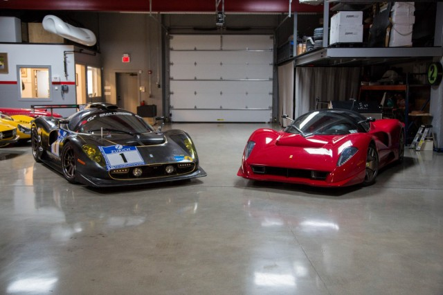 Ferrari P4/5 by Pininfarina and P4/5 Competizione