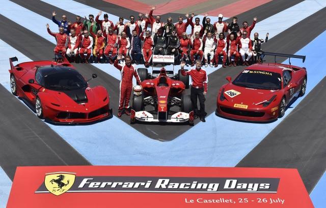 Ferrari Racing Days event in 2015