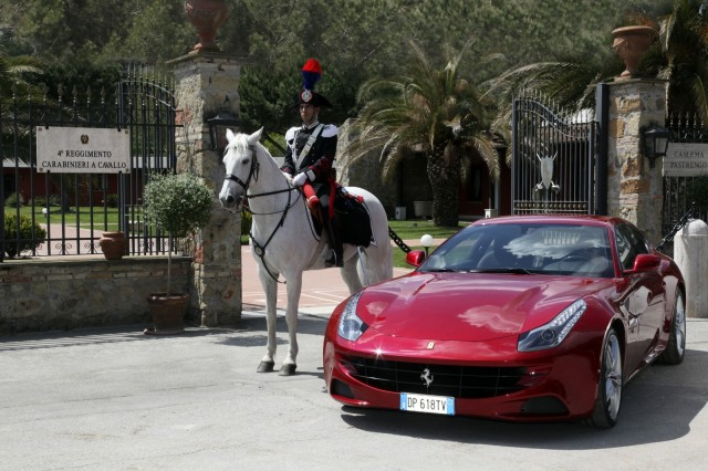 Ferrari salutes Queen Elizabeth II on her Diamond Jubilee.