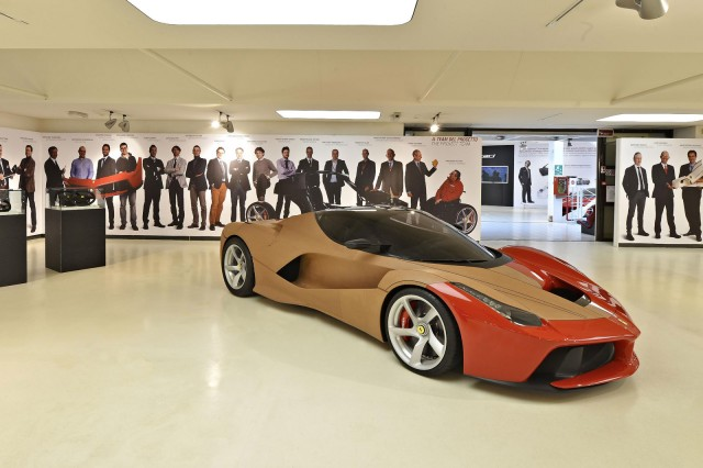 'Ferrari Supercar - Technology, Design, Myth' exhibition at the Ferrari Museum, Maranello, Italy