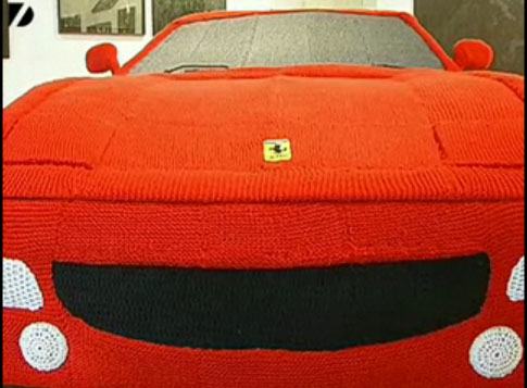 With Tons of Spare Time, You Too Can Knit a Ferrari
