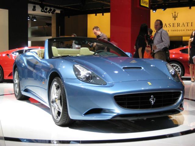 Ferrari Hybrid Coming, Too--to 2009 Los Angeles Show?