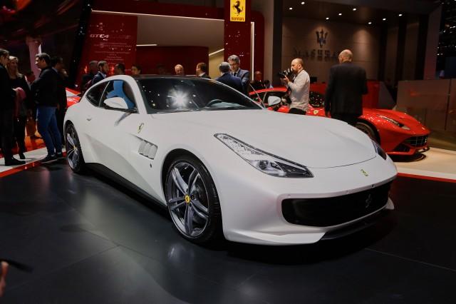 Ferrari GTC4 Lusso, 2016 Geneva Motor Show