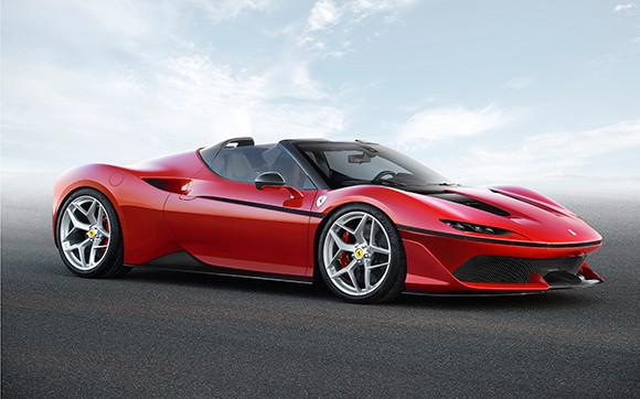 Ferrari J50 celebrates 50 years of Ferrari in Japan