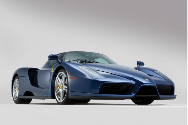 Blu Tour de France Ferrari Enzo for sale