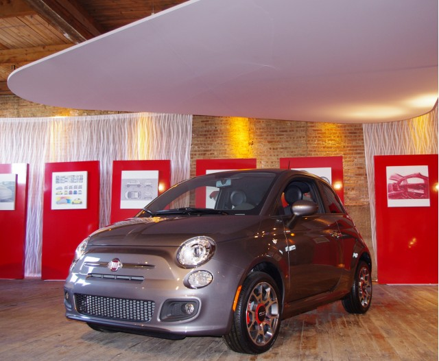 Fiat 500 at Chicago Gallery 1028
