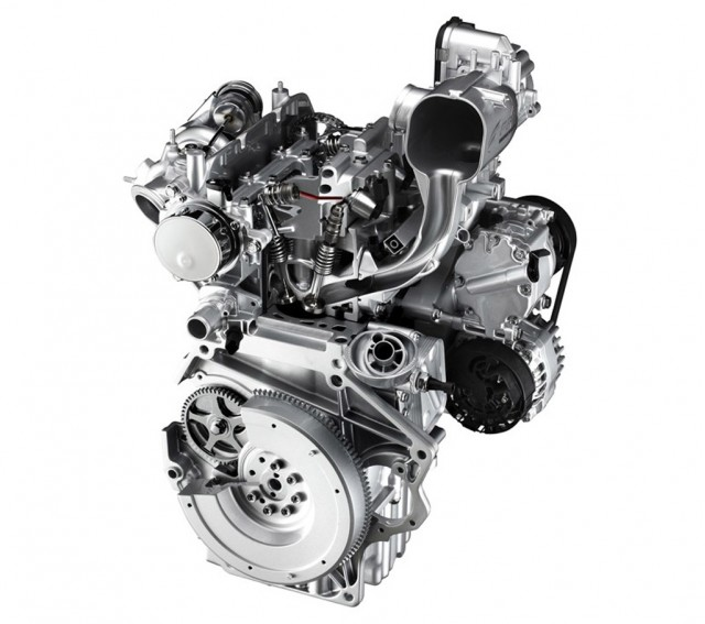 Fiat 500 TwinAir two-cylinder engine