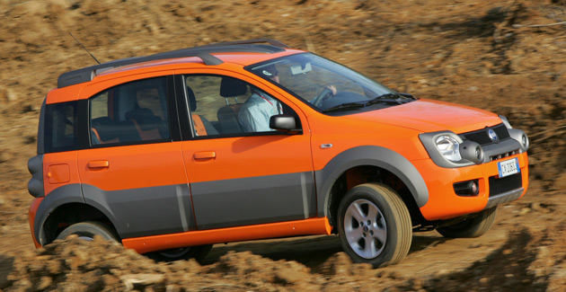 Compact cars like the Fiat Panda Cross could help Jeep meet 35mpg CAFE regulations set to roll in over the next decade
