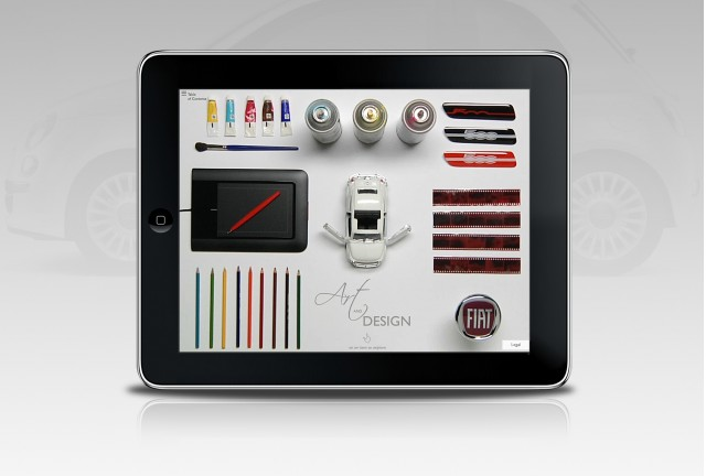 Fiat Source iPad App