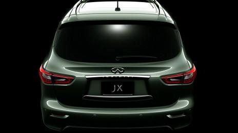 Fifth Infiniti JX Concept teaser image