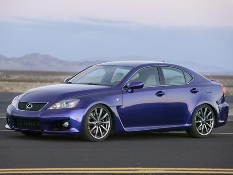 First Lexus IS-F images