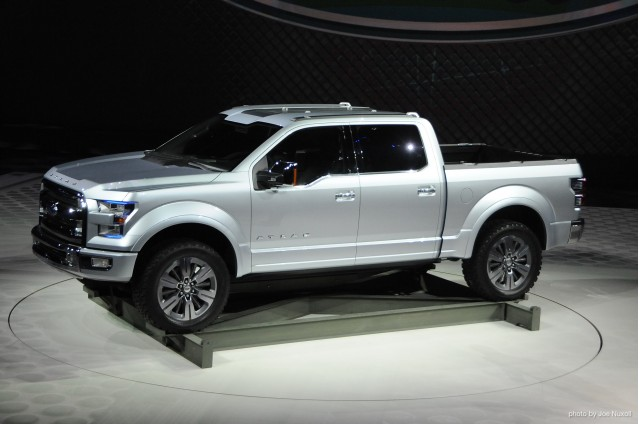 next ford f 150 advanced materials likely hybrid. Black Bedroom Furniture Sets. Home Design Ideas