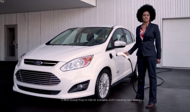 Ford C-Max Energi 'Upside' parody advert