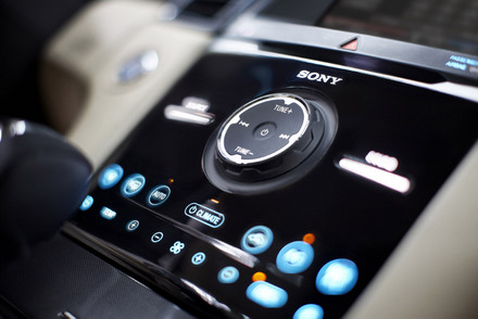 Ford Capacitive Touch Center Stack