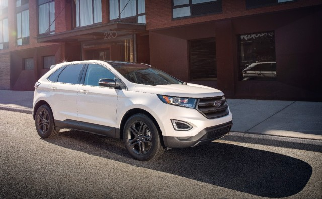 2018 Ford Edge with SEL Sport Appearance Package