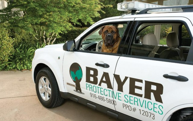 2008 Ford Escape Hybrid owned by Bayer Protective Services, Sacramento, CA