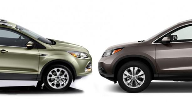 Ford Escape Vs. Honda CR-V