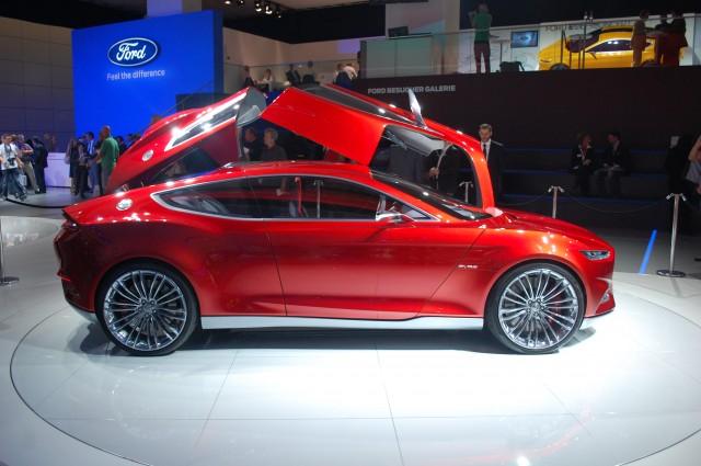 Ford Evos concept live photos, 2011 Frankfurt Auto Show