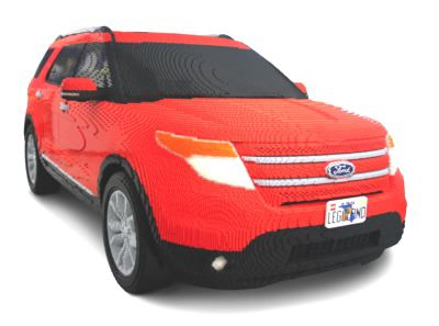 Ford Builds An Explorer From Lego Bricks--And No, You Can't Drive It
