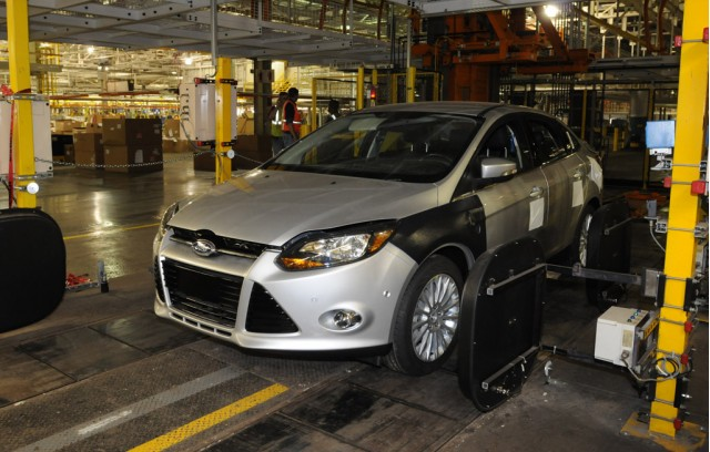 Ford Focus at the Michigan Assembly Plant