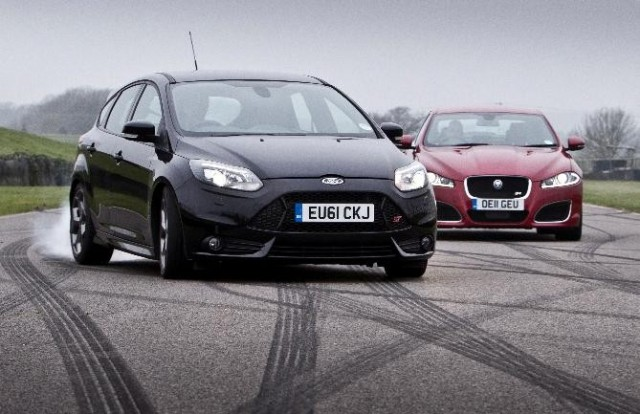 Ford Focus ST and Jaguar XFR to recreate The Sweeney chase scene at Goodwood