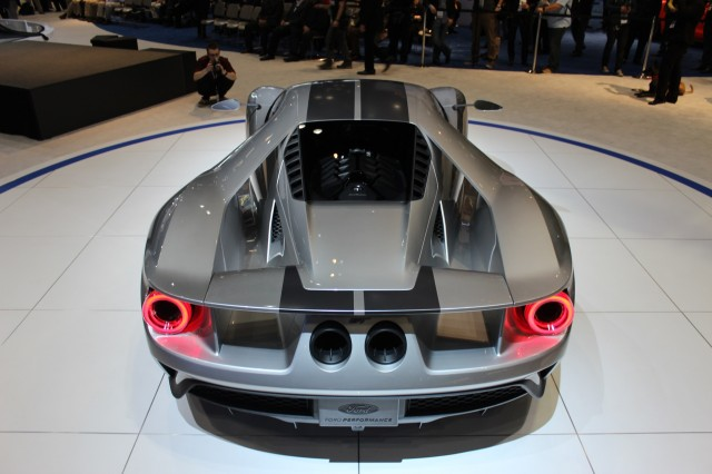 ford gt prototype 2015 chicago auto show live photos - 2015 Ford Gt Auto Show