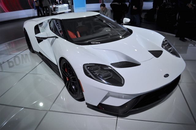Production-Intent Ford GT, 2016 Detroit Auto Show