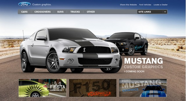 Ford Mustang Graphics