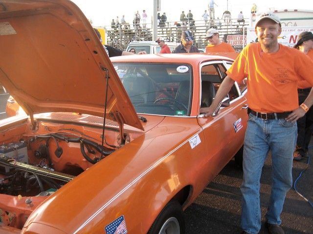 Ford Pinto EV Dragster