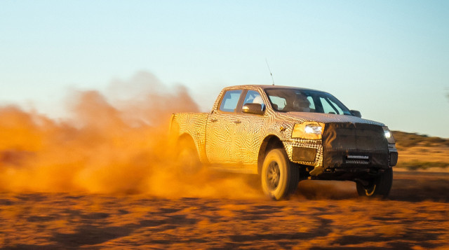 Ford is pushing the boundaries by producing a Ranger Raptor