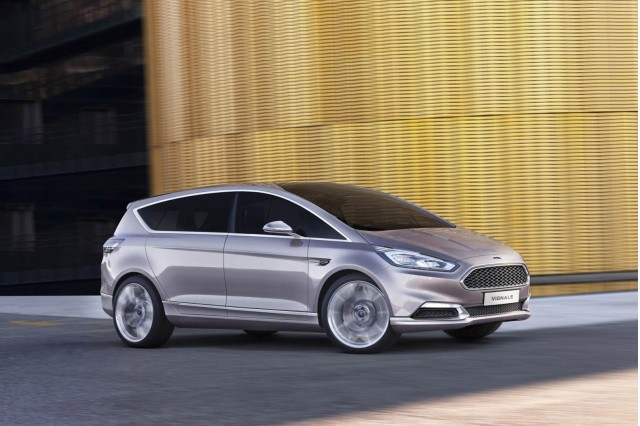 Ford S-Max Vignale concept, 2014 Milan Fashion Week