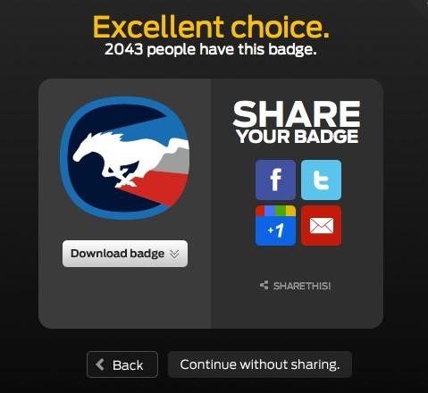 Ford Social Badges