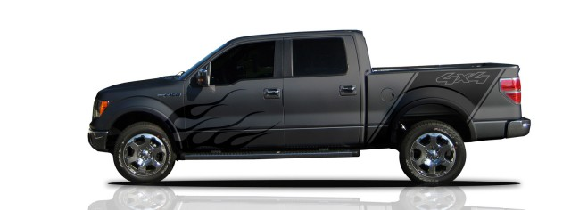 Ford unveils vinyl wraps for F-150, Mustang