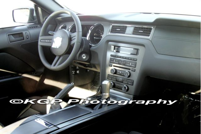 2010 Ford Mustang spy shots