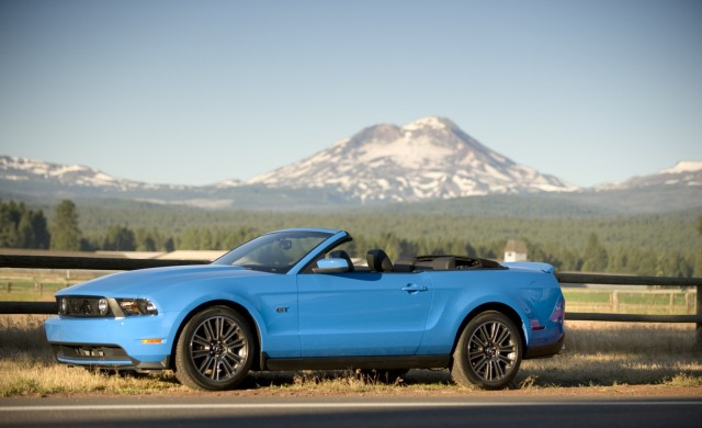 2010 Ford Mustang GT Convertible -- Run to the Sun