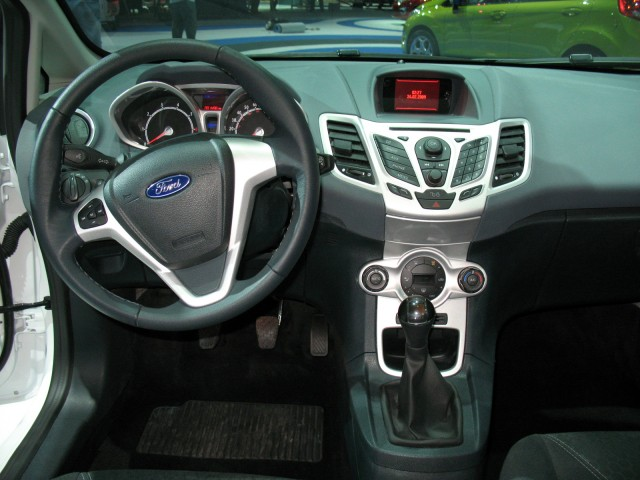 2011 Ford Fiesta interior