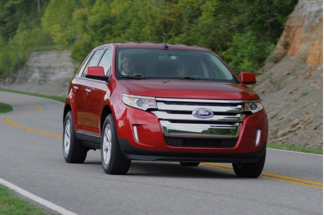 2012 Ford Edge With 2.0-Liter Ecoboost Four Gets 30 MPG ...