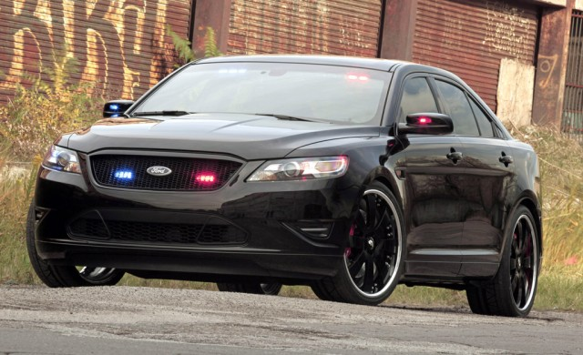 2010 Stealth Ford Taurus Police Interceptor Concept