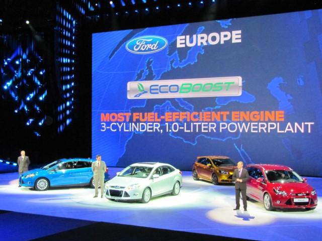 Ford press conference, 2011 Detroit Auto Show