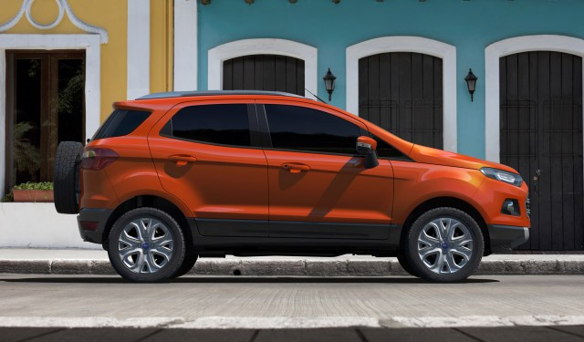 ford ecosport small suv to arrive in u s for 2017 from india. Black Bedroom Furniture Sets. Home Design Ideas