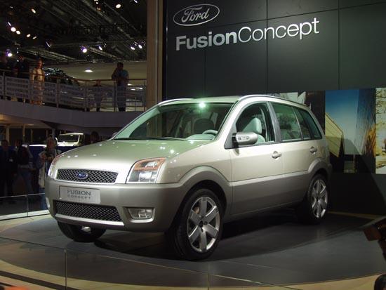 Ford Fusion Concept Frankfurt 2001