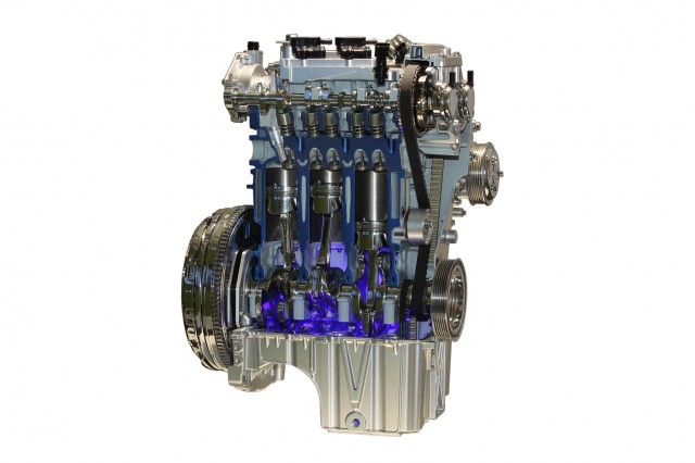 Ford's award-winning 1.0-liter EcoBoost engine