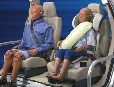 Ford's inflatable seat belt