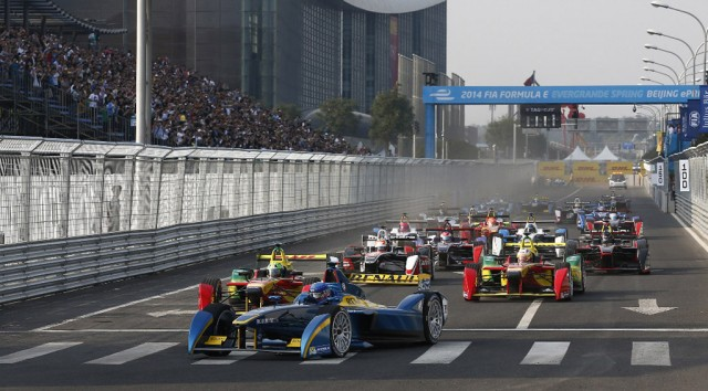 Formula E race in Beijing, China